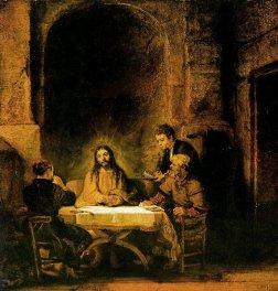 Rembrandt Emmaus