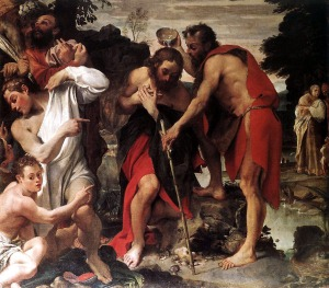 Carracci - Baptism of Christ