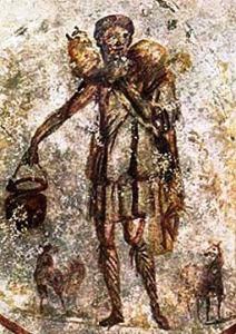 Jesus Good Shepherd catacombs
