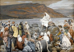 Tissot - Jesus Teaching