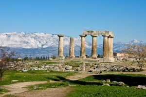 Temple of Apollo, Corinth (Holy Land Photos)