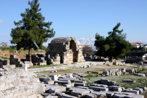 North Shops, Corinth (Holy Land Photos)