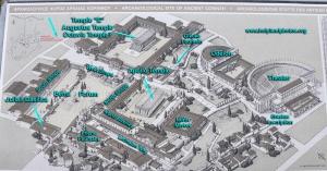 Plan of Corinth (Holy Land Photos)
