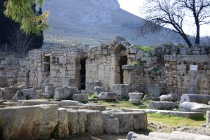 West Forum, Corinth (Holy Land Photos)